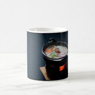 Comida en Japan Cup Taza Básica Blanca