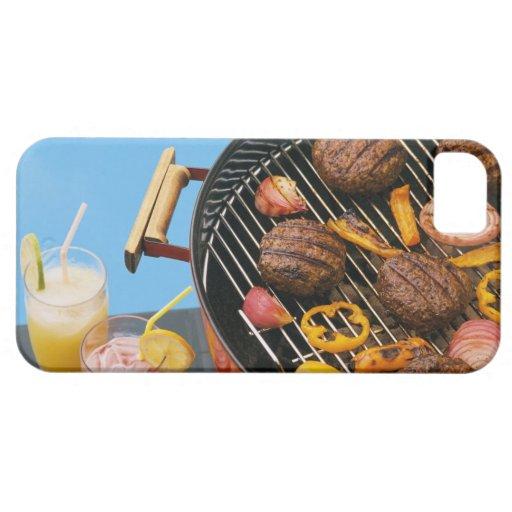 Comida en parrilla funda para iPhone SE/5/5s