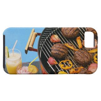 Comida en parrilla iPhone 5 funda