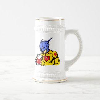 Comida estupenda de la leche jarra de cerveza