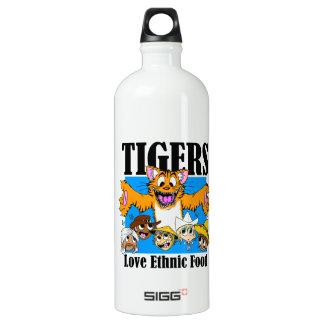 Comida étnica del amor de los tigres