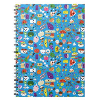 Comida feliz cuaderno
