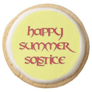 Comida feliz del fiesta del solsticio de verano:
