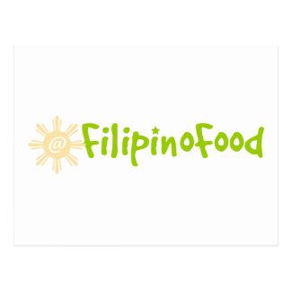Comida filipina postal