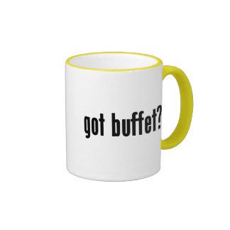 ¿comida fría conseguida? tazas de café