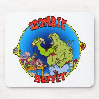Comida fría del zombi tapetes de ratón