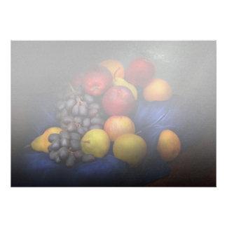 Comida - fruta - todavía de la fruta vida anuncio personalizado