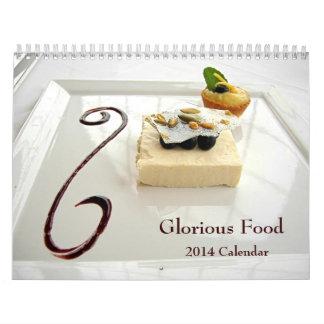 ¡Comida gloriosa! Calendario 2014