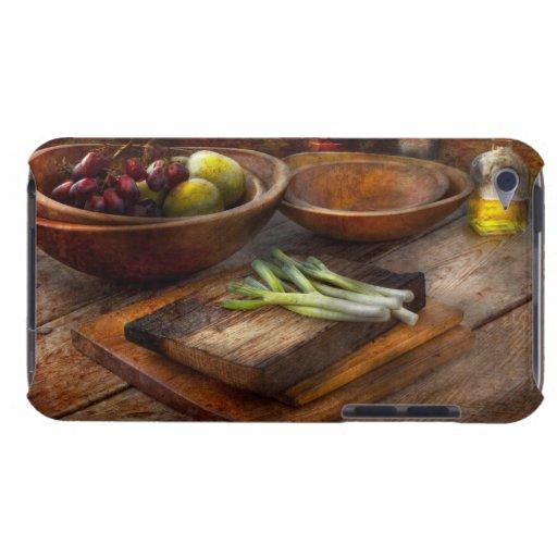 Comida - huerto - variedad iPod touch cárcasa