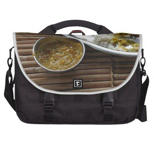 Comida india bolsas de portátil