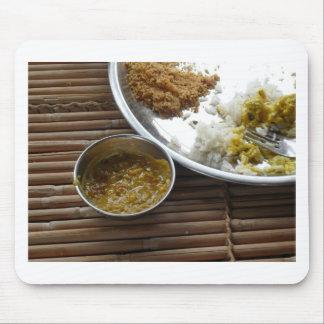 Comida india alfombrillas de ratón