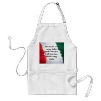 Comida italiana…. delantales