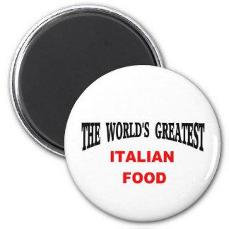 Comida italiana imán