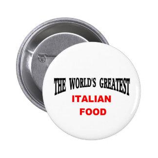 Comida italiana pin