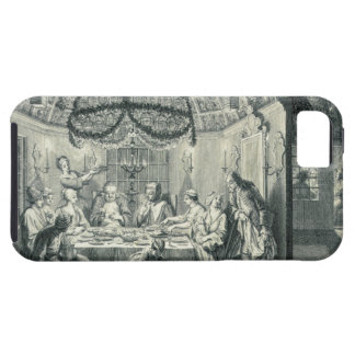 Comida judía durante el banquete de los tabernácul iPhone 5 carcasas