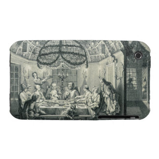 Comida judía durante el banquete de los tabernácul iPhone 3 Case-Mate carcasa