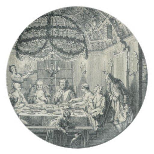Comida judía durante el banquete de los tabernácul platos de comidas
