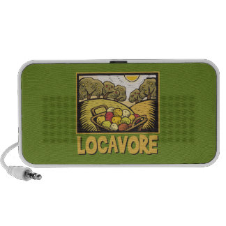 Comida lenta de Locavore iPhone Altavoz