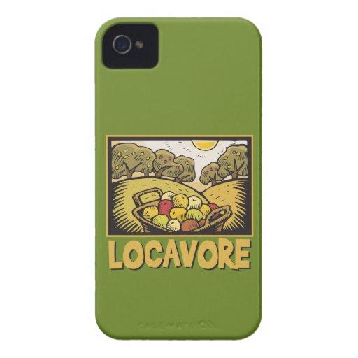 Comida lenta de Locavore iPhone 4 Cárcasa