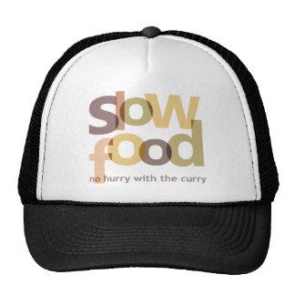 Comida lenta gorro