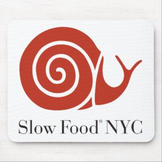 Comida lenta NYC Mousepad Alfombrilla De Ratones