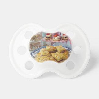 Comida libre del fiesta del gluten chupetes para bebes