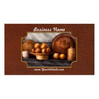 Comida - limones - especia del invierno tarjetas de negocios