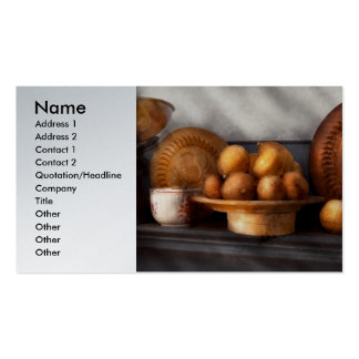 Comida - limones - especia del invierno tarjetas de visita