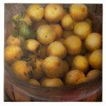 Comida - manzanas - manzanas de oro azulejos cerámicos