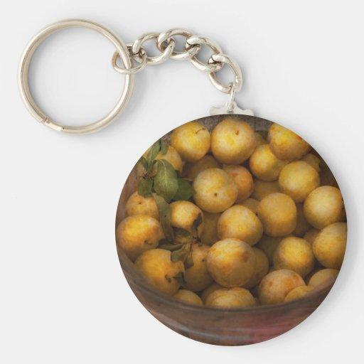 Comida - manzanas - manzanas de oro llaveros