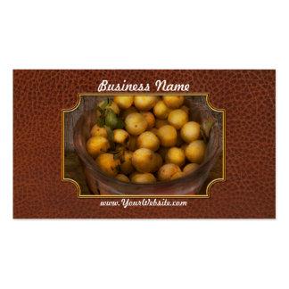 Comida - manzanas - manzanas de oro plantillas de tarjetas de visita