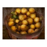 Comida - manzanas - manzanas de oro tarjetas postales