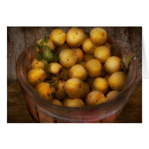 Comida - manzanas - manzanas de oro tarjetas