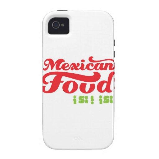 COMIDA MEXICANA iPhone 4/4S FUNDA