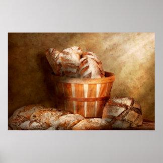Comida - pan - su pan diario póster