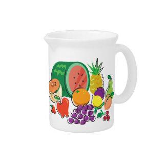 Comida para Thought_Totally Fruity_Cornucopia Jarra Para Bebida