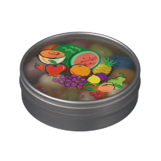 Comida para Thought_Totally Fruity_cornucopia Frascos De Caramelos