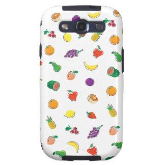 Comida para Thought_Totally Fruity_Pattern Galaxy S3 Cobertura