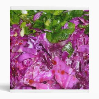 comida púrpura de la verdura de las cebollas
