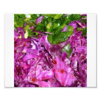 comida púrpura de la verdura de las cebollas arte con fotos