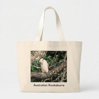 Comida que espera de Kookaburra del australiano pa Bolsas De Mano