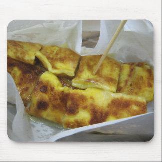Comida tailandesa de la calle de la crepe del plát tapetes de ratones