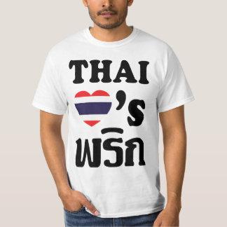 Comida tailandesa del ❤ TAILANDÉS de los AMORES Playera