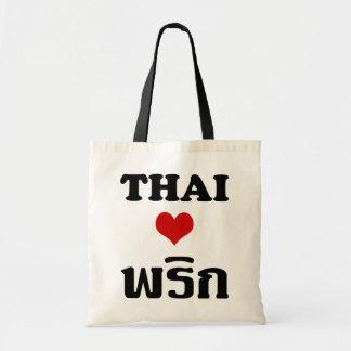 Comida tailandesa del ❤ TAILANDÉS del AMOR PHRIK