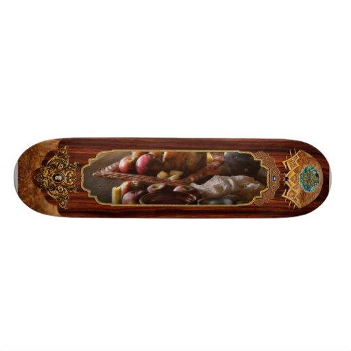 Comida - un tributo a Rembrandt - manzanas y Rolls Patin Personalizado