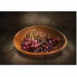 Comida - uvas - un cuenco de uvas escultura fotográfica
