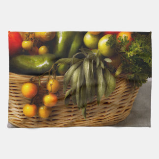 Comida - Veggie - consejo sabio Toalla De Cocina