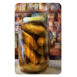 Comida - verdura - un tarro de salmueras iman flexible