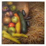 Comida - verduras - cosecha muy temprana tejas