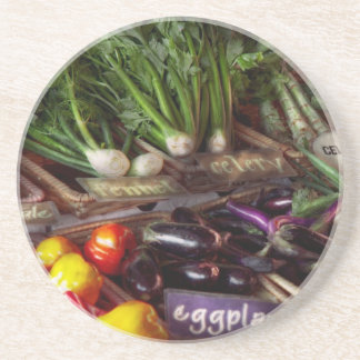 Comida - verduras - mismo recién hecho posavasos personalizados